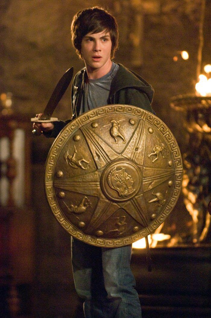 PERCY JACKSON Shield Pendant Necklace