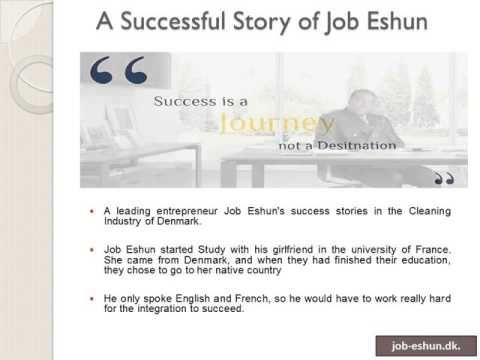 #JobEshun – Prominent Entrepreneur in the Field of Cleaning Industry