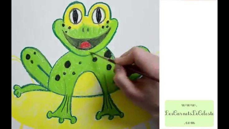 Comment dessiner une grenouille