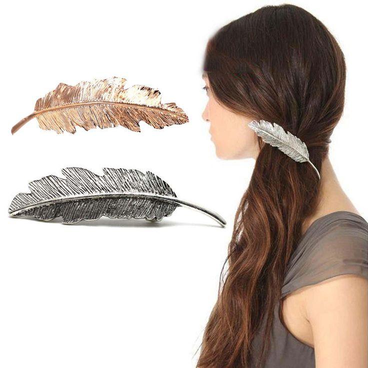 Vintage Leaf Hair Clip