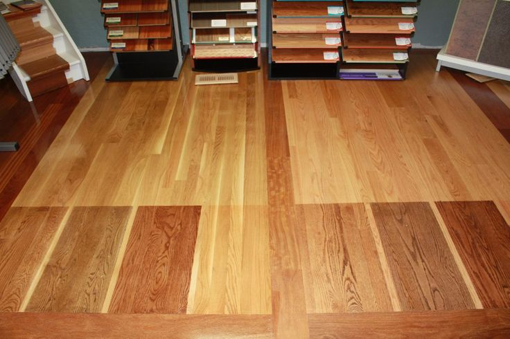 What Oak Hardwood Floor Stain Looks Best With Honey Oak