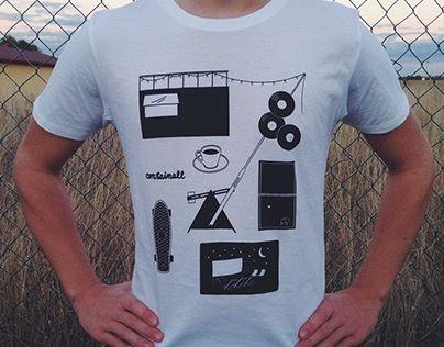 Containall T-shirt design