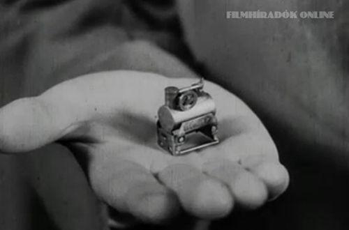 TÖRTÉNELMI KALEIDOSZKÓP...: Székesfehérvárott szerkesztették a világ legkisebb erőgépét