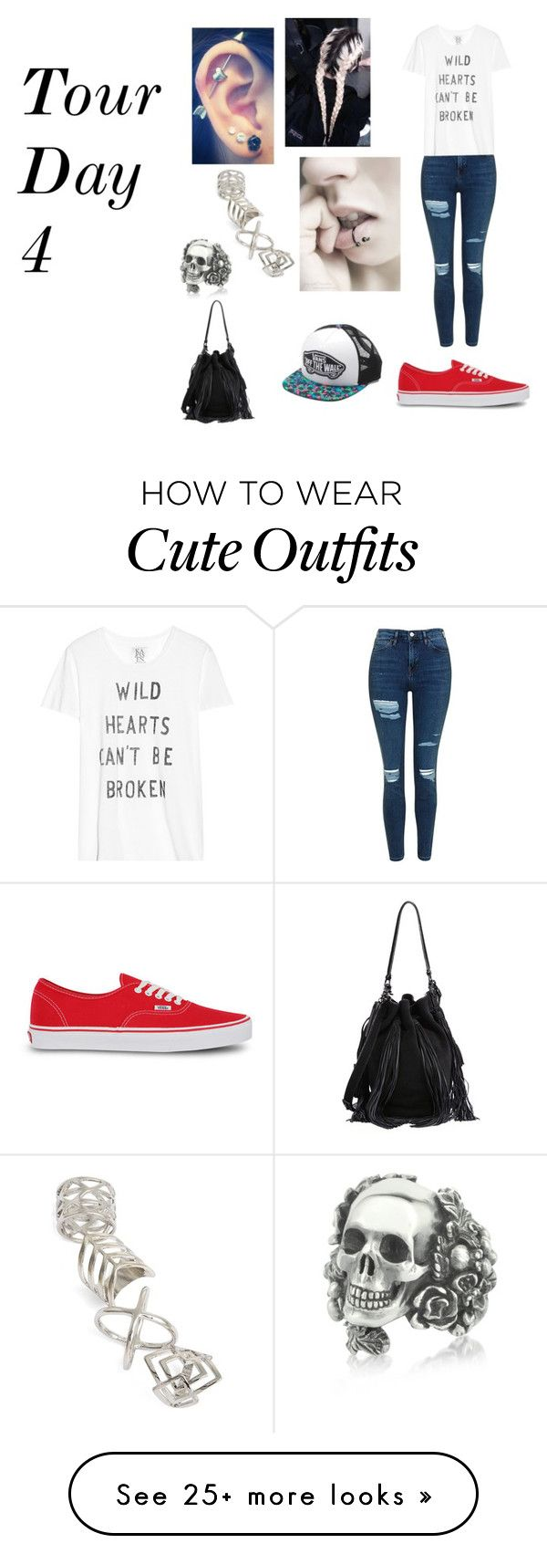 """Tour Day 4"" by tattoo-artsies on Polyvore featuring Topshop, Zoe Karssen, Vans, Ugo Cacciatori and Loeffler Randall"