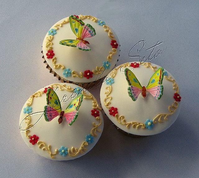 Wedding Cupcake Decorating Ideas: 361 Best Images About Beautiful Wedding Cupcake Ideas On