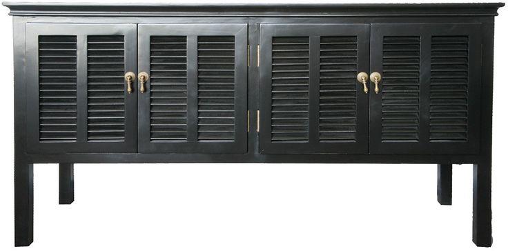 Louvre Sideboard Black