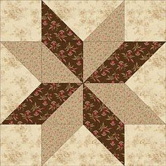 Sarah's choice block, can be made in a number of sizes.