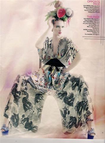 Fine Fettle: Fashion Inspiration: Japonisme
