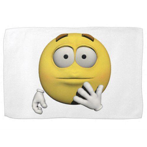#Surprised emoticon towel - #emoji #emojis #smiley #smilies
