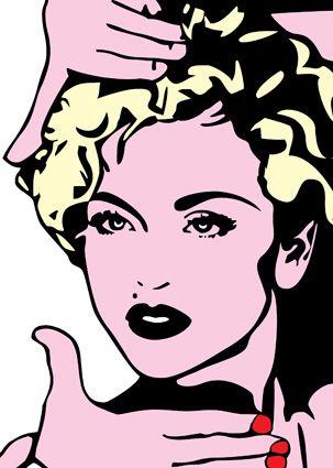 Madonna Andy Warhol Style