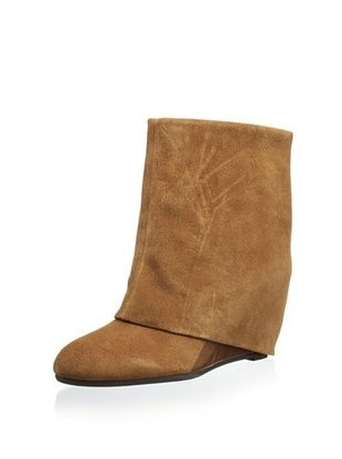 51% OFF French Connection Women's Rafaela Wedge Ankle Boot (Chocolate/T Moro)