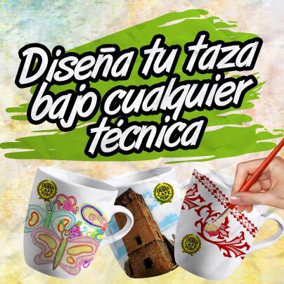 ¡No necesitas más que tu propia imaginación!. Únete, anímate, diseña tu taza, ¡y participa!. www.tazalocura.com