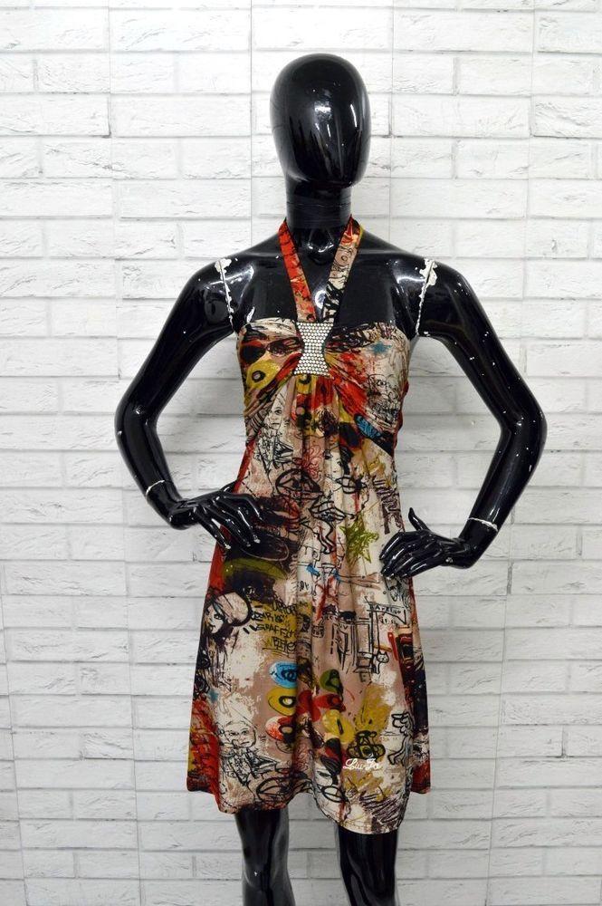 premium selection 2b1f8 862b2 Vestito Donna LIU-JO Taglia S Abito Dress Woman Maglia ...
