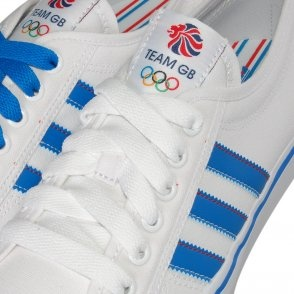 Adidas Originals Nizza Lo Cl Trainers in White - Ahhhhh Wish I got these man!! Go team GB