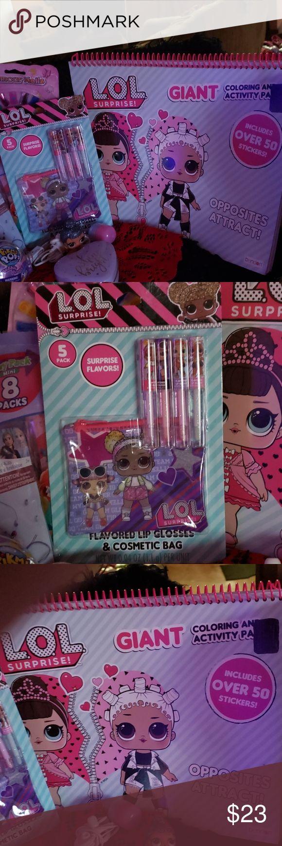Lol surprise bundle ×2 items nwt Color activities, Lol