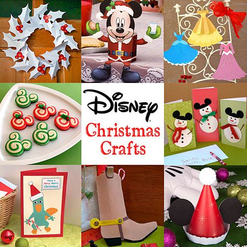 FREE Disney Christmas Crafts for Kids