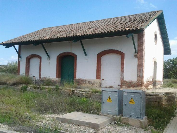 Estación de Fabara, Zaragoza