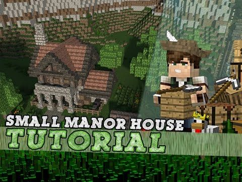 Minecraft Tutorial: Small Medieval Manor House! - YouTube