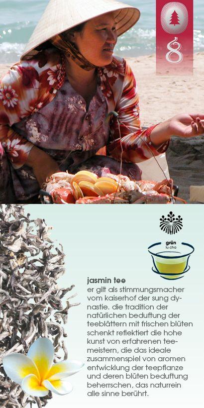 """#tag8: belohne dein ich mit einer jasmin trilogie! jedem, der heute bis 23:59 uhr eine bestellung von mindestens 50€ auf http://www.shuyao.de/ aufgibt UND das wort """"jasmin"""" ins BEMERKUNGSFELD schreibt, schenken wir eine 3er tüte jasmin trilogie.  #shuyao #teayourmind #jasmin #tee #gruenertee"""