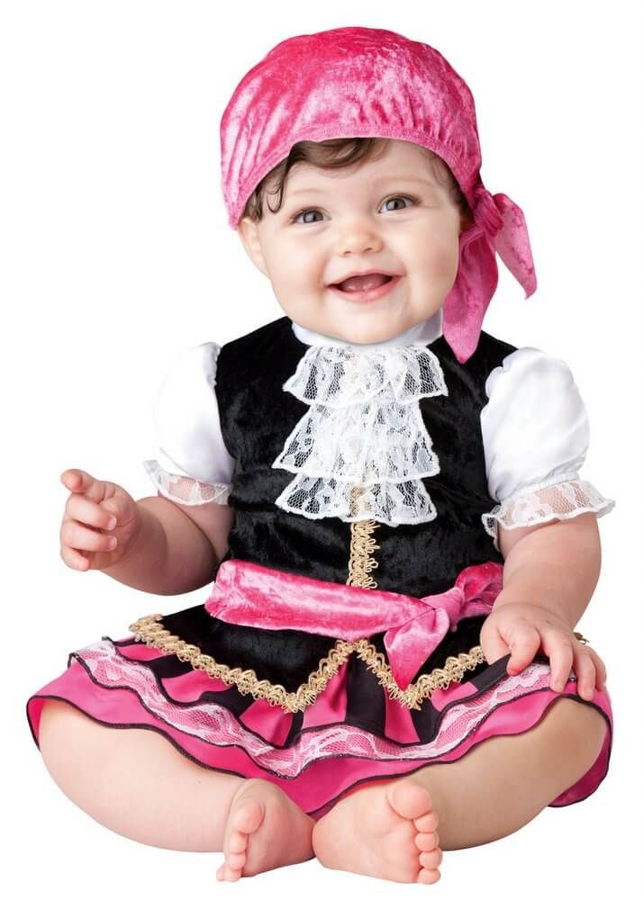 Infant/Toddler Pretty Little Pirate - Baby Girl Costumes - Sale
