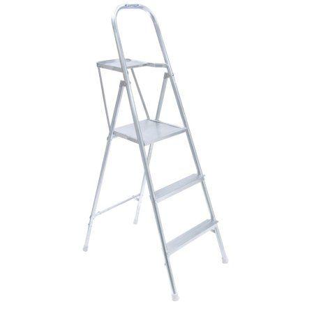 Werner 265 3-Step Type III Aluminum Platform Ladder