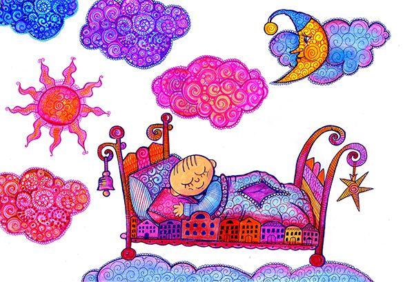 Słodkich snów w obłokach