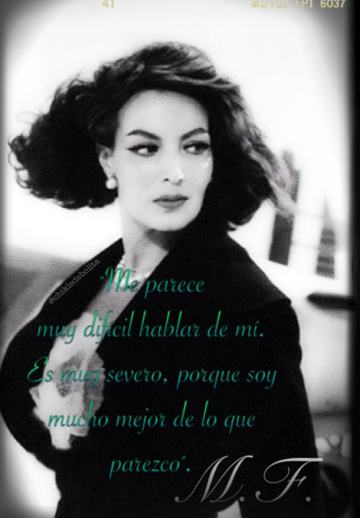 María Félix, mi favorita La Doña Mexican actress