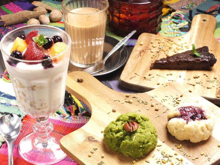 ◆日々の暮らしににスパイスを◆本格インド料理もお茶もお酒もデザートも自慢のお店