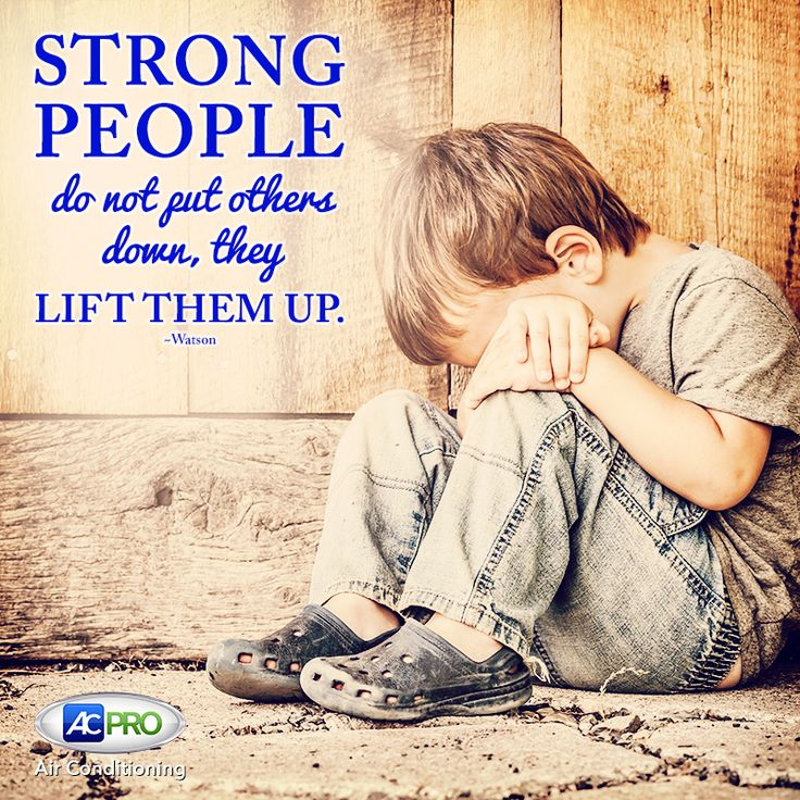 """STRONG PEOPLE do not put others down. They LIFT THEM UP!"" Repin if you agree! How will you lift others up today? #MotivationalMonday"