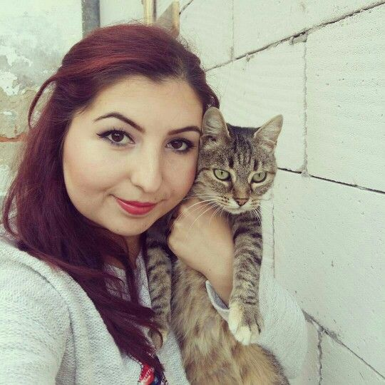 My and my cat.. ♡