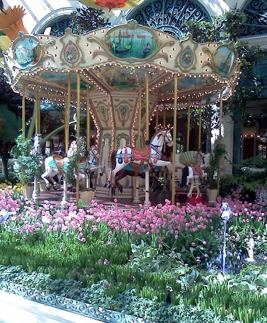 Botanical gardens @ the Bellagio Hotel Las Vegas