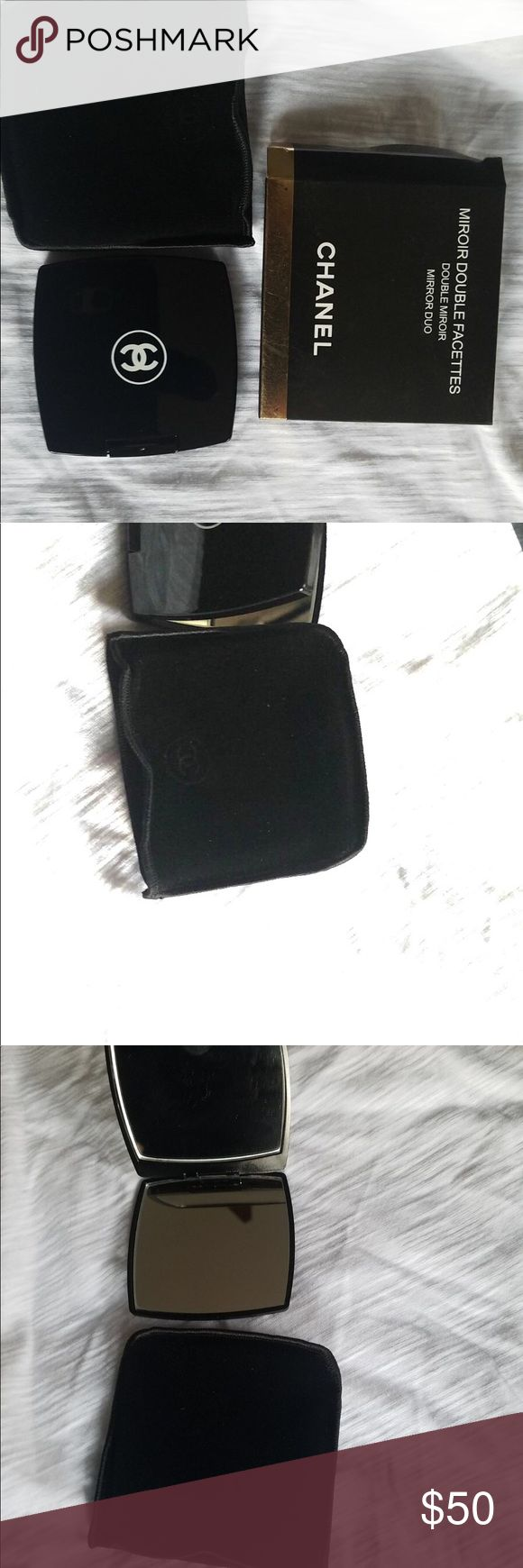 Vip chanel compact mirror Double sided mirror Brand new and never used  Authentic vip gift item (does not come with dust bag or hologram authentication card because this is a VIP gift given by Chanel beauty & fragrances after buying a certain amount $$) CHANEL Makeup Brushes & Tools