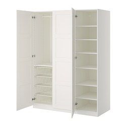 PAX Garderobekast - -, zachtsluitende scharnier - IKEA