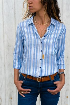 Trend: Alaçatı Stili Kadın Mavi Çizgili Gömlek || Kadın Mavi Çizgili Gömlek Trend: Alaçatı Stili Kadın                        http://www.1001stil.com/urun/4334079/trend-alacati-stili-kadin-mavi-cizgili-gomlek.html?utm_campaign=Trendyol&utm_source=pinterest