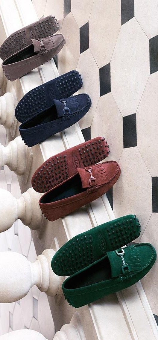Tods ♥✤ | KeepSmiling | BeStayClassy #tods #shoes #gommino