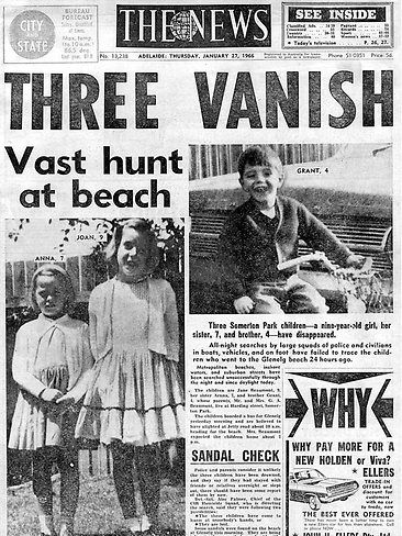 AUSTRALIA | Disappearance of the Beaumont children in 1966 | Wikipedia