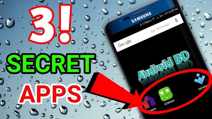 Top 3 SECRET Apps Not Available on The PLAYSTORE!!!