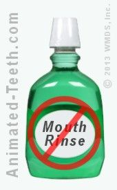 Avoid using mouthwash after an extraction.