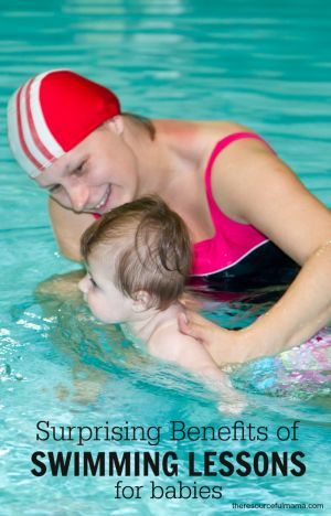 Surprising Benefits of Swimming Lesson for Babies