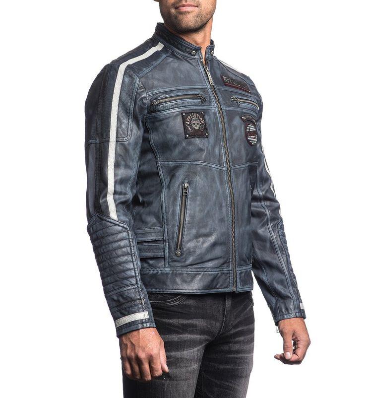 Velocity - Affliction Clothing - Mens Jackets - 2
