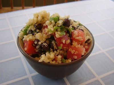 Black Bean and Tomato Quinoa | Foodie heaven | Pinterest