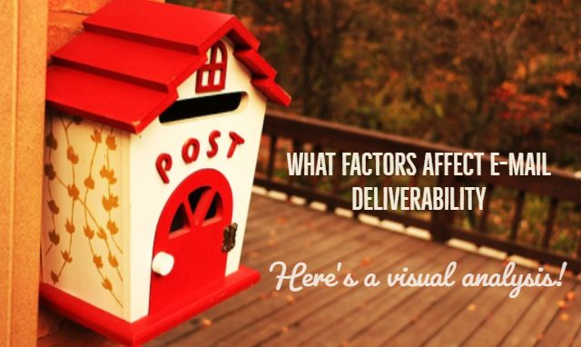 In order to understand how e-mail deliverability works there is a need to break down all the factors that affect it either on a negative or positive note.