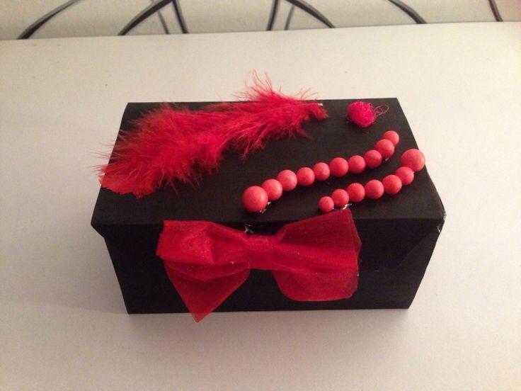 jewelry box. box of paper :)