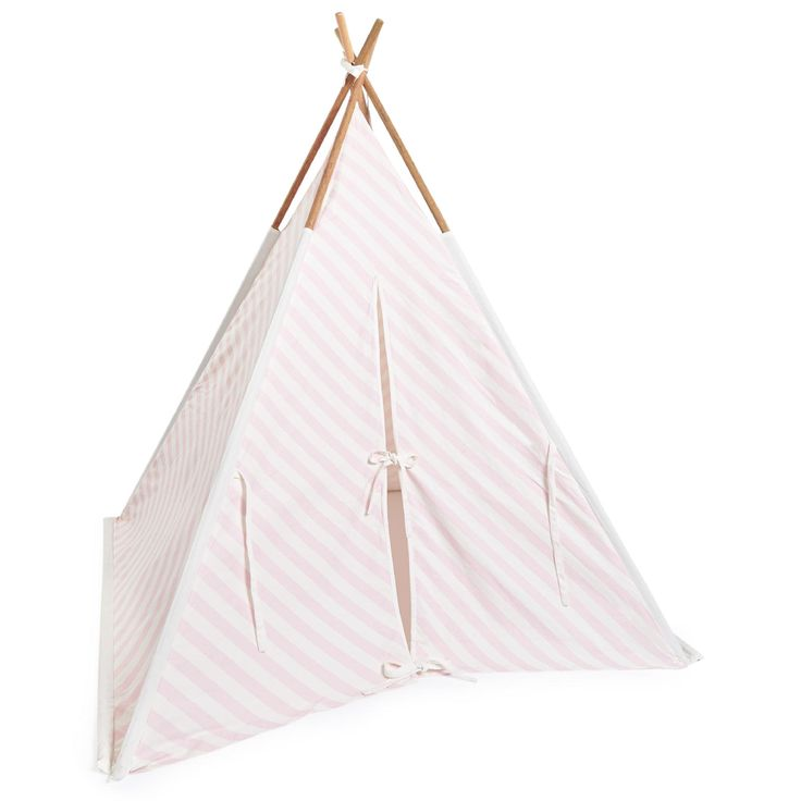 Cottoncloth 4 wooden sticks Cotton string The tepee will become your child's favorite place He/she will be able to play or to have a little nap inside it A very cosy place The tepee can be put up in a bedroom in or the garden Stripes Self-assembly item Please follow assembly instructions to obtain a perfect result As the tepee is not waterproof, bring it inside if it rains Size: length 130 cm (51.1 inches) x Height: 160 cm x Depth 130 cm (51.1 inches) - £ 143