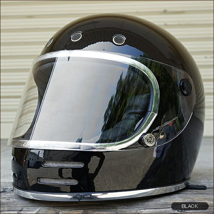楽天市場 レトロ ビンテージ フルフェイス ヘルメット Neo Vintage Series Vt 9 6カラー 2サイズ メンズ レディース 兼用品 Sg規格 全排気量対応 バイク用 ハンドルキング フルフェイスヘルメット ヘルメット レディース