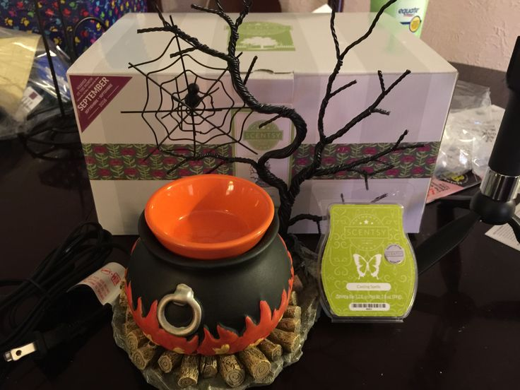 Warmer & Scent of the month for September 2016. Hocus Pocus is the warmer and the scent is casting spells. Smells of spices like pumpkin bread.