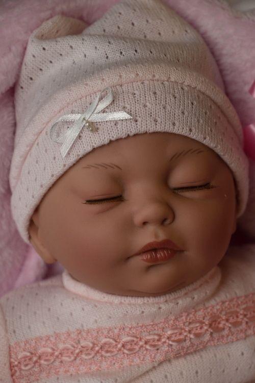 Spící reborn miminko Daniela od firmy Guca ze Španělska