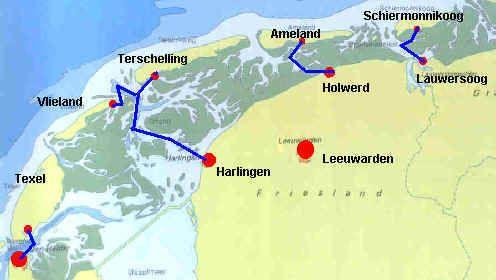 Résultats Google Recherche Waddenislands: Texel, Vlieland, Ameland, Schiermonnikoog