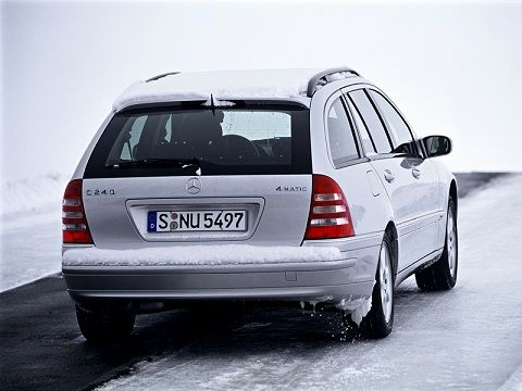 Mercedes-Benz C 240 Estate (2001 – 2005).
