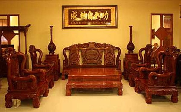 Antique Vietnamese Living Room